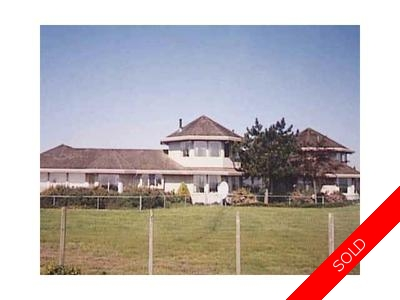 Ladner Rural House and Acreage for sale:  5 bedroom 4,900 sq.ft. (Listed 2010-11-05)