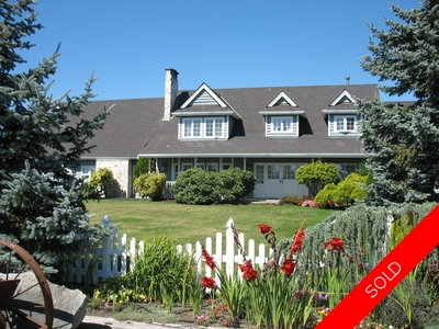 Ladner, Delta House & Acreage for sale:  3 bedroom 3,686 sq.ft. (Listed 2011-09-10)