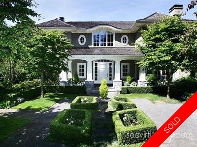 Point Grey Single Family House for sale:  5 bedroom 19 sq.ft. (Listed 2008-07-08)